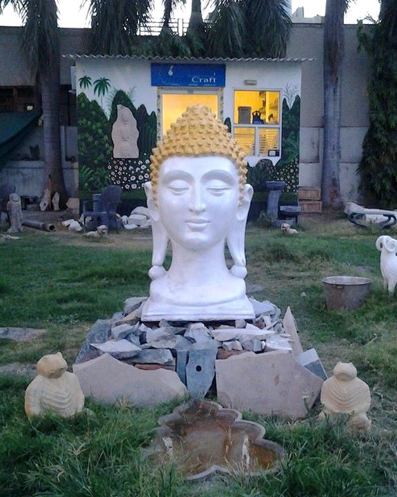 Marble Buddha Statue in Udaipur